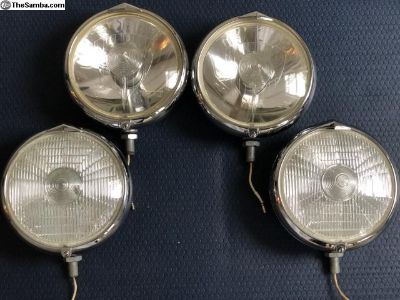 Porsche 911 Marchal rally lights ORIGINALS
