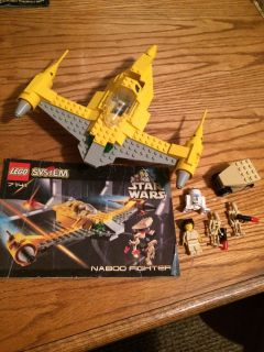 Lego Star Wars vintage ship with Minifigures