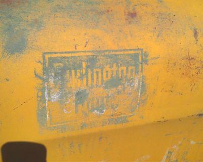 Vintage Truck Door Advertising Americana - Burlington Route