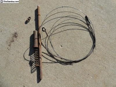 VW Beetle 36 HP Accelerator Cable & Hardware