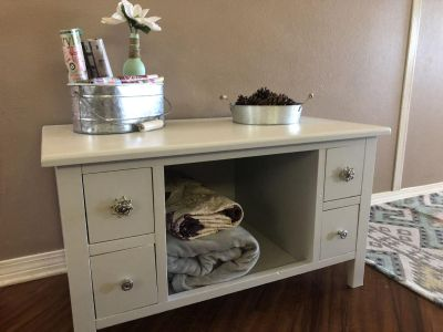 Recently Refinished TV Stand