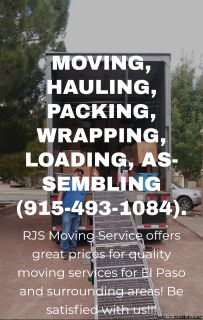 RJS Affordable Moving Services