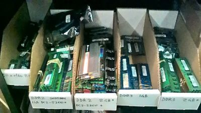 RAM DDR2, DDR3, SODIMM prices @ SBK Recycle