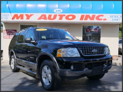 2004 Ford Explorer XLT (Black)