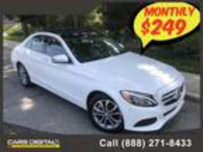 $22850.00 2016 MERCEDES-BENZ C-Class with 27841 miles!