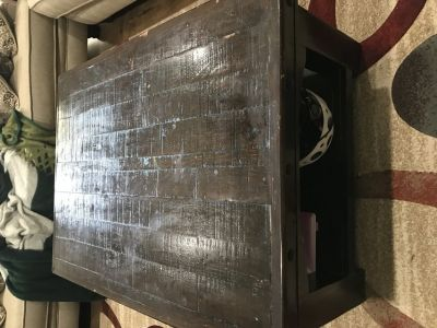 Real Wood Hand Made Coffee Table & End Table