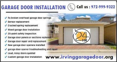 24/7 Garage door service 75039 | Garage door service