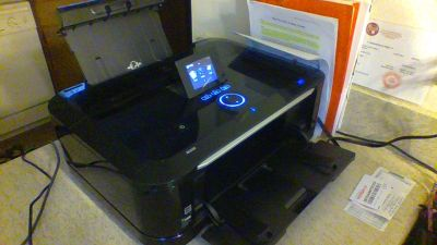 Canon MG6120 Printer real good condition. Includes ink replacements