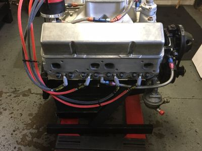 Chevy Small Block 360 Cu.In. Modified Engine 23 Degree Brodi
