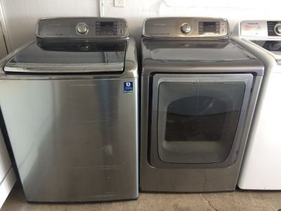 Samsung Washer and Electric Dryer Set