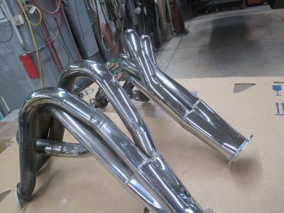 62-67 Chevy II Used Chrome Hooker Headers