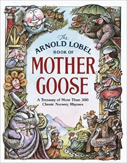 Vintage 1986 The Random House Book of Mother Goose A Treasury of 306 Nursery Rhymes