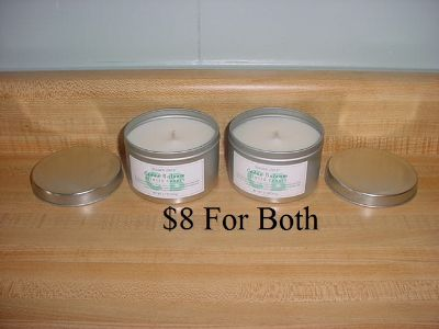 Set Of 2 Brand New Trader Joes Limited Edition Cedar Balsam Candles. These Hand-Poured Candles Are Made With A Natural Coconut-Soy Wax...