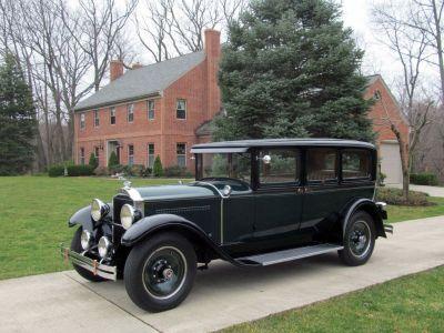 1929 Packard Eight Series 633 Seven Passenger Sedan With Overdrive