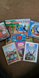 Lot of Thomas the train books and movies