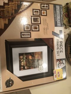 Gallery wall picture frames