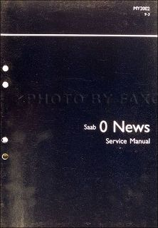 Sell 2002 Saab 9-3 Service Training Shop Manual 93 Engine Electrical Trunk Repair motorcycle in Riverside, California, United States, for US $19.95