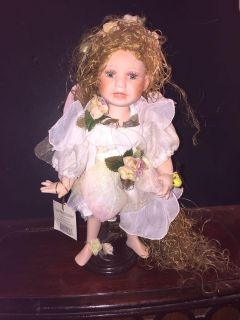 SHOW STOPPERS PORCELAIN FAIRY DOLL