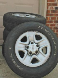 stock toyota tundra wheels and tires