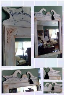 Large French Inspired Mirror