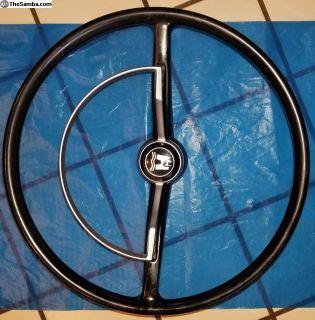 """Steering Wheel Complete w/ NICE """"D"""" Ring"""