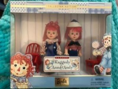 Vintage Barbie storybook favorites collector edition Raggedy Ann & Andy. New in box
