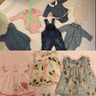 3-6 baby cloth Very good conditions.