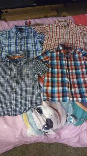 Button up shirts size 5t