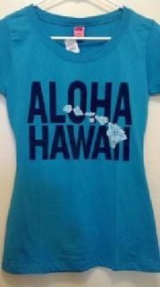 "$15 BRAND NEW! Women's/Junior ""ALOHA HAWAII"" T-Shirt"