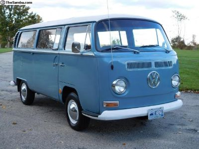 1969 Deluxe Sunroof With A Westfalia Camper Kit