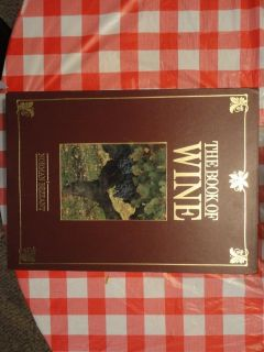 The Book Of Wine by Norman Bezzant - 400 pages, boxed hardcover and oversized
