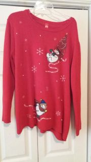 RED CHRISTMAS SWEATER 3XL