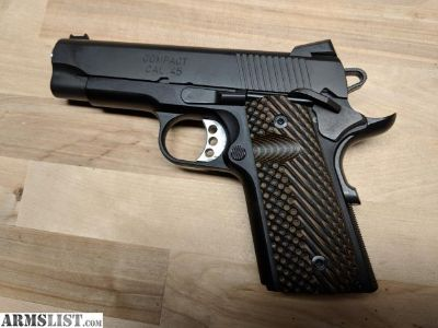 For Sale: Springfield Range Officer Compact .45