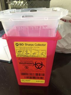 Free sharps container