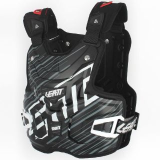 Buy Leatt Lite Shox Chest Protector Black motorcycle in Holland, Michigan, United States, for US $129.00