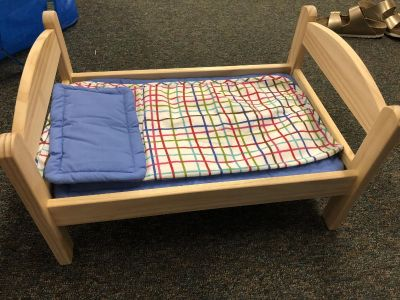 Doll bed. Never used.
