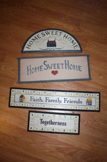Home Sweet Home country wall decor