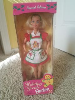 Holiday treat barbie collectable