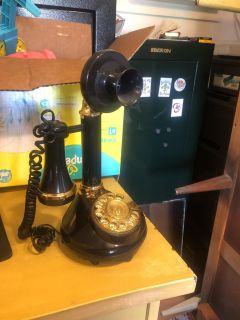 old time land line phone