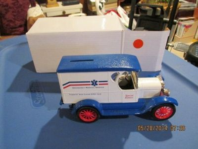 Collectors Special Edition - Model Car Of An EMS Ambulance - Gift Boxed - Real Rolling Wheels!