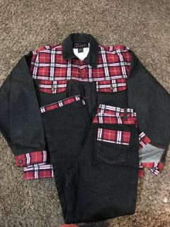 New without tags jeans and matching jean jacket. Size large