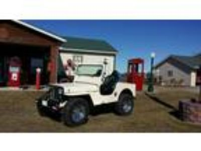 1949 Willys Jeep CJ3A Convertible