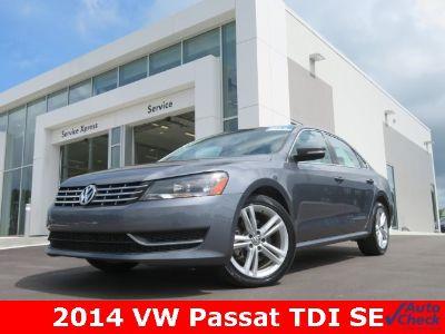 2014 Volkswagen Passat TDI SE (Platinum Gray Metallic)