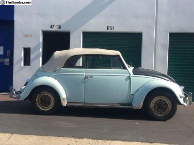 1956 VW Karmann Convertible