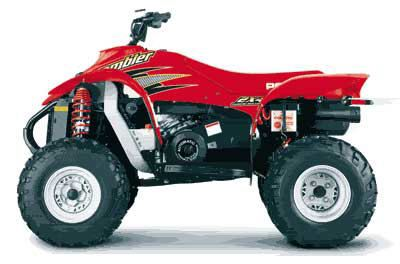 2000 Polaris Scrambler 400 2 x 4 Sport ATVs Linton, IN