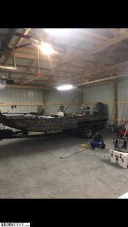 For Sale/Trade: 2013 War Eagle LDBR w/merc 115 4 stroke