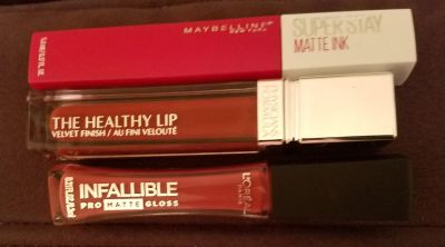 Liquid lipsticks swatched never used 4 dollars for all ppu only