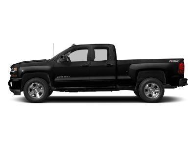 2018 Chevrolet Silverado 1500 Double Cab Standard Box 2-Whee (Black)