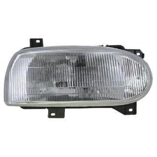 Purchase 93-99 VW Golf Cabrio Single Beam Headlight Headlamp Passenger Side Right RH motorcycle in Gardner, Kansas, US, for US $89.90
