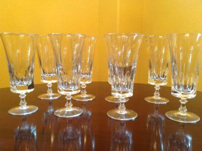 Vintage Crystal Parfait Glasses